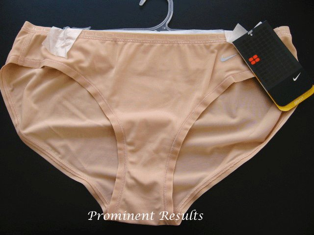 A0093 Nike Fit Dry Training Bikini 138276 Nude SIZE LARGE