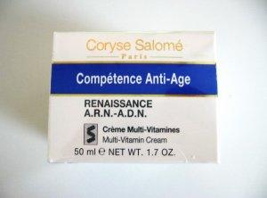 S0188 Coryse Salome COMPETENCE ANTI-AGE RENAISSANCE A.R.N.-A.D.N. MULTI-VITAMIN CREAM 50ML