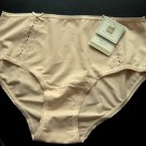 A001F KAREN NEUBURGER knCool PIMA COTTON FULL BRIEF NUDE SIZE MEDIUM
