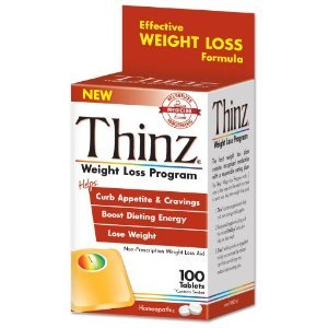 W001 Thinz Weight Loss Program Non-Prescription Aid100 Tablets