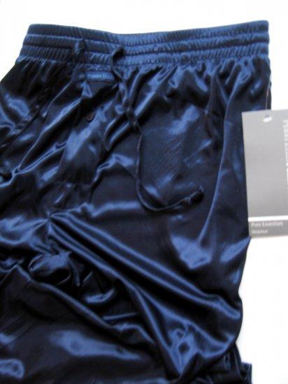 A368 Perry Ellis Pure Essentials Semi-Sheer Lounge Pant 804717 NAVY, SIZE MEDIUM
