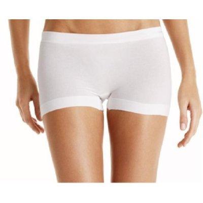 A041S Calvin Klein RealCoolCotton Seamless Short D1303, White SIZE Medium
