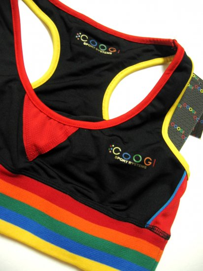 A0336 Coogi Sport Systems Women's Sports Bra T6KF51 SIZE = Large
