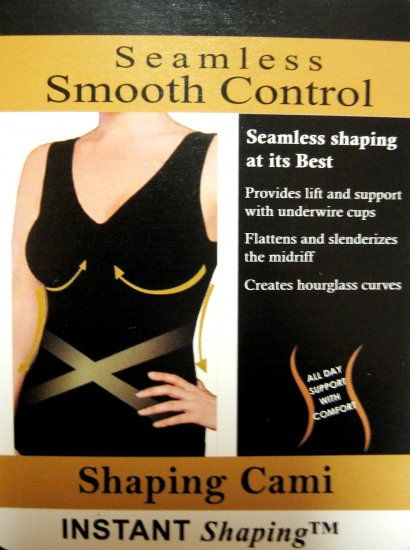 A0581 Instant Shaping Seamless Smooth Control Cami NUDE  SIZE 1X
