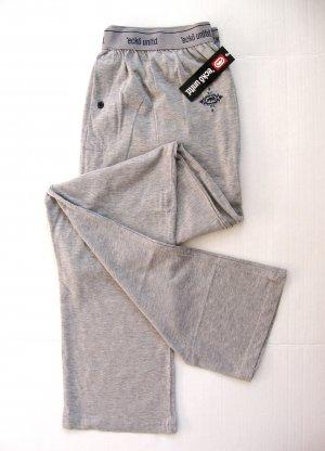 A375 ecko unltd Mens Gray Logo Knit Lounge Pant EK8014P SIZE Large