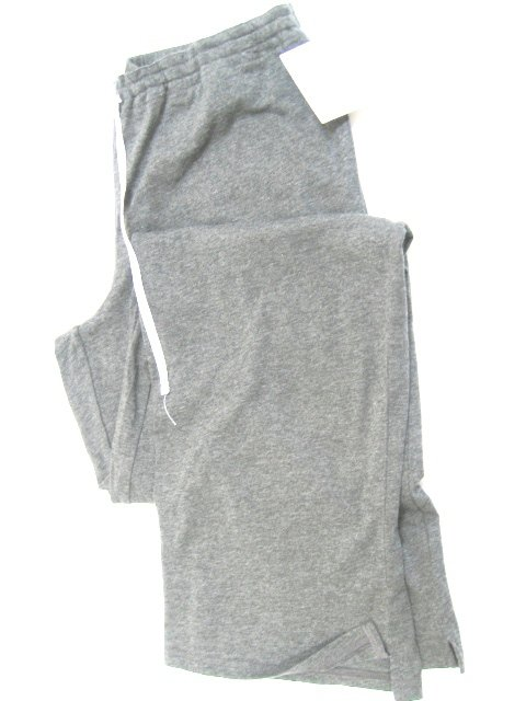 A0387 Calvin Klein Women's Jersey P J Pant With Drawing String S0500D Gray, SIZE LARGE
