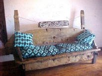 Drift wood bench