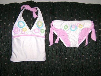 NEW GIRLS LIMITED TOO SWIMSUIT SIZE 6
