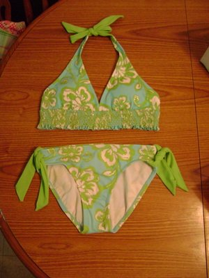 NEW GIRLS LIMITED TOO SWIMSUIT SIZE 14