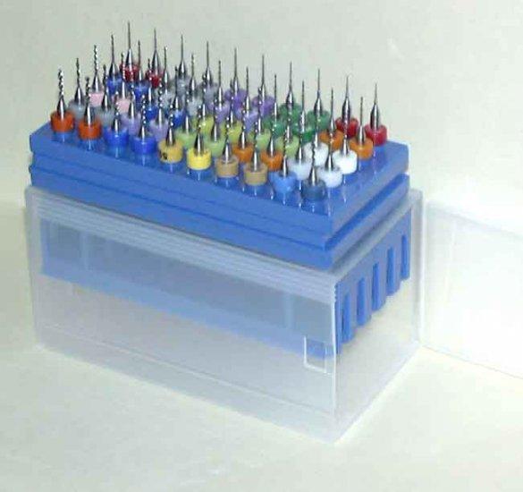 50 Micro Carbide Drill Bit Kit
