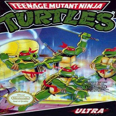 TMNT Teenage Mutant Ninja Turtles Nintendo NES Game * free shipping *