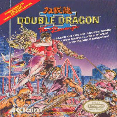 Double Dragon 2 Nintendo NES Game * free shipping *