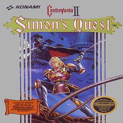 Castlevania 2 Simon's Quest Nintendo NES Game * free shipping *