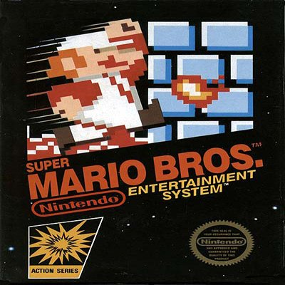 SUPER MARIO BROS. / DUCK HUNT Nintendo NES Game * free shipping *