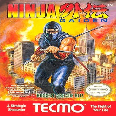 NINJA GAIDEN Nintendo NES Game * free shipping *