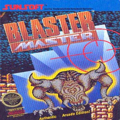 BLASTER MASTER Nintendo NES Game * free shipping *