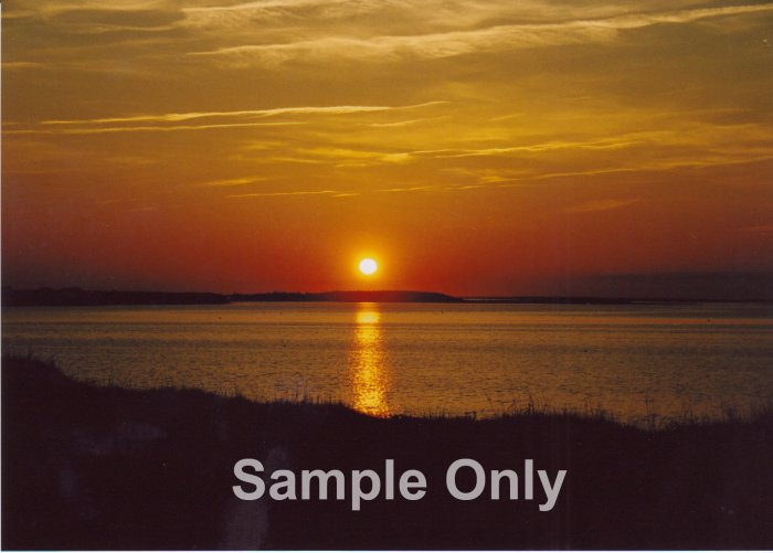 """Darnley Sunset"" - 8x10 - Original Color Photo - signed"