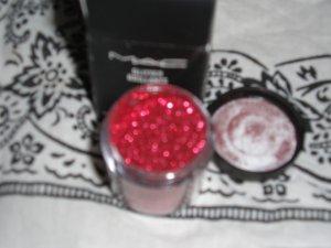 Mac pro Glitter Brillants RED W0W H0T 1/4 tsp sample sz