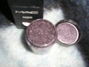 ****Mac Pigment**** DEEP PURPLE*~~~~~ pro eye pigment WOW 1/4 sample sz