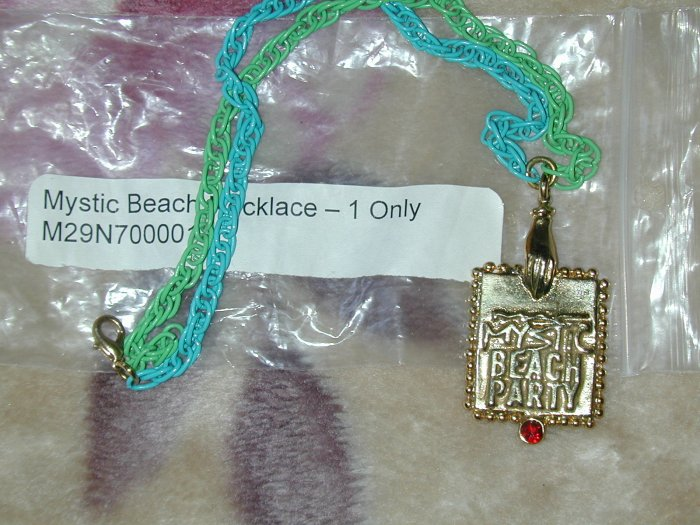 mac collecters necklace wow mystic beach!!!!