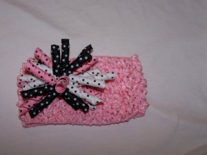 Pink/Black Korker
