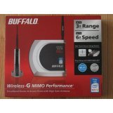 Buffalo Technology WHR-HP-G54 Wireless-G MIMO Performance Router and Access Point