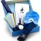 Om Yoga in a Box: Basic Level by Cyndi Lee Like New
