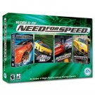 The World of Need for Speed - includes 4 high-performance racing games PC CD