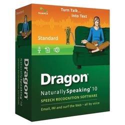 Nuance Dragon NaturallySpeaking v.10.0 Std: OPEN BOX  - A309A-G01-10.0
