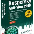 Kaspersky Anti-Virus 2010 3 User - KAV903121 - Windows 7 Ready