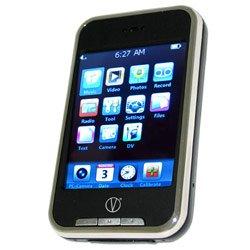 V-Touch 8GB MP3/MP4 - 2MP Camera Visual Land V-Touch 8 GB  - VL-875-8GB-BLK  SaveZone.org