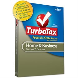 Intuit TurboTax Home & Business 2010 Fed & State