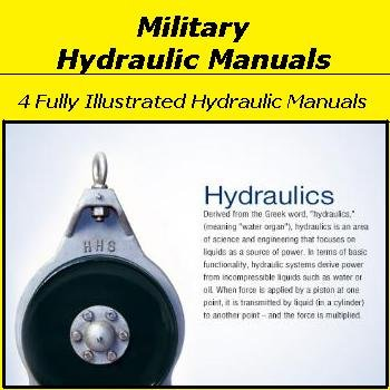 4 Military Hydraulic Manuals on CD
