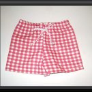 New Doll Clothing -  Red and White Check Summer Shorts for American Girl Doll