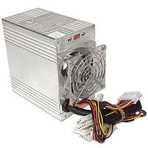 Aluminum 500 Watt Dual Fan Atx Power Supply P4 & Xp