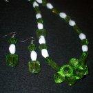 Green & White Set