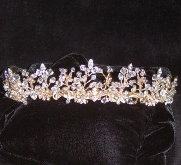 Twinkling Lights Tiara in a Gold/Silver combination