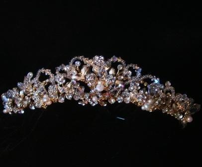 Crystal Elegance Tiara