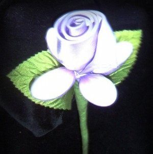 One Dozen Satin Rose Italian Confetti Flowers