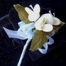 One Dozen Triple Cluster Italian Confetti Flowers