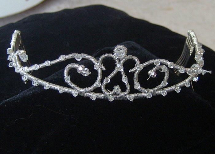 Nelson D'Leon Structured Elegance Tiara