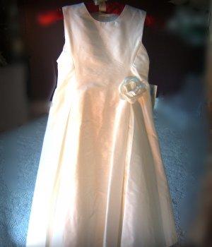 Dupioni Silk A-line Special Occassion Tea Length Dress by Sara Lene
