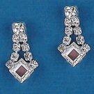 Diamond Delight Rhinestone & Crystal Drop Earring