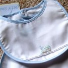 Choo Choo Train Embroidered pintucked Newborn Baby Bib