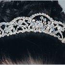 Dyana - delicate crystal tiara in clear or aurora borealis Swarovski crystal