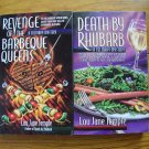 Lot of 2 by Lou Jane Temple - Death by Rhubarb & Barbecue Queens