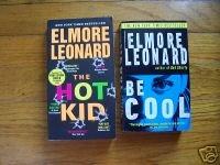 Lot of 2 Elmore Leonard pb Be Cool, The Hot Kid