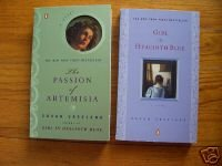 Lot of 2 - Susan Vreeland Artemisia & Girl in Hyacinth Blue