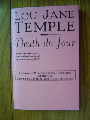 Death du Jour - Lou Jane Temple 2006 TPB ARC /  Uncorrected Proofs