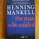 The Man Who Smiled - Henning Mankell ARC / Proof  Kurt Wallander